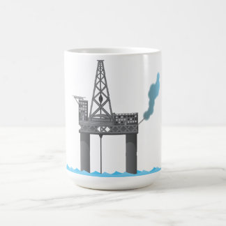 Oil Platform Basic White Mug