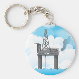 Oil Platform Keychains
