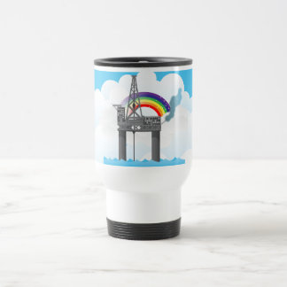 Oil Platform Stainless Steel Travel Mug