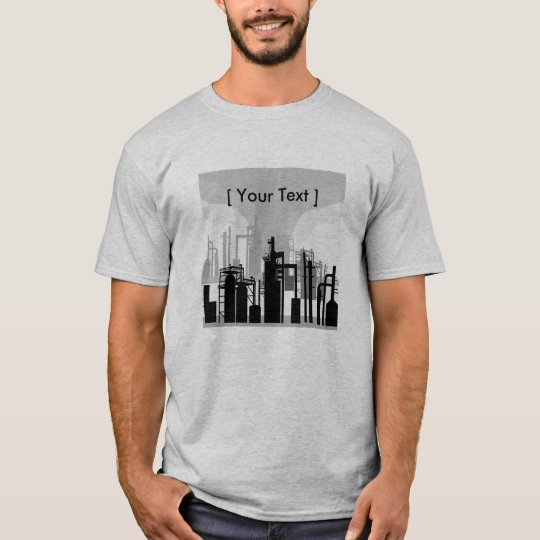 Oil Refinery Environment Mens T-shirt