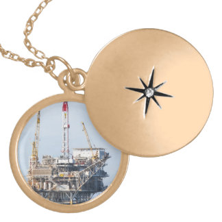 Oil Rig Necklace