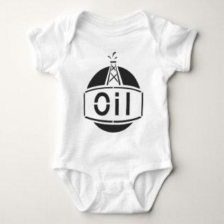 Oil Rig Worker Baby Bodysuit
