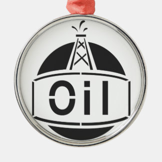 Oil Rig Worker Christmas Ornament