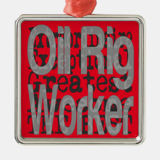 Oil Rig Worker Extraordinaire Christmas Ornament