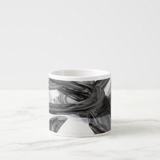 Oil Slick Abstract Espresso Cups