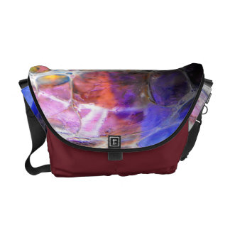 Oil Slick Courier Bags