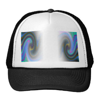 Oil Slick Rainbow Fade Trucker Hats