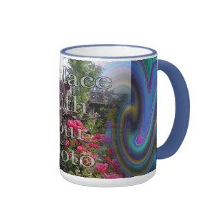 Oil Slick Rainbow Fade Mug