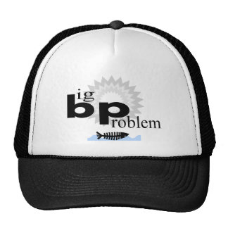 Oil Spill Disaster T-Shirts Mesh Hats