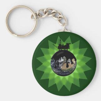Oil Spill Keychain