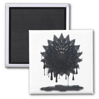 Oil Spill Square Magnet