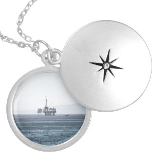 Oil Tower Locket