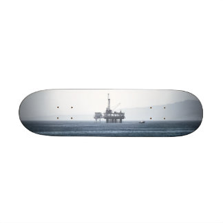 Oil Tower Custom Skateboard