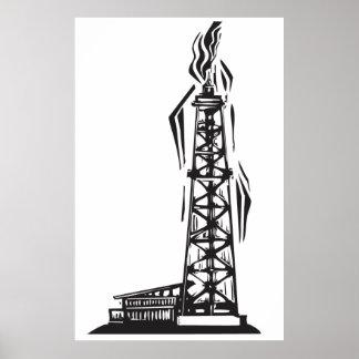 Oil Well Print