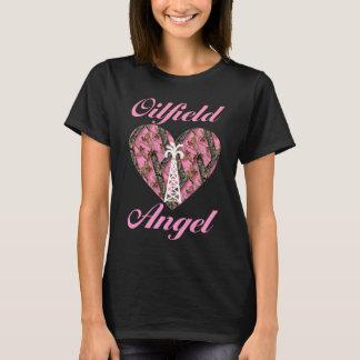 Oilfield Angel in Camo T-Shirt
