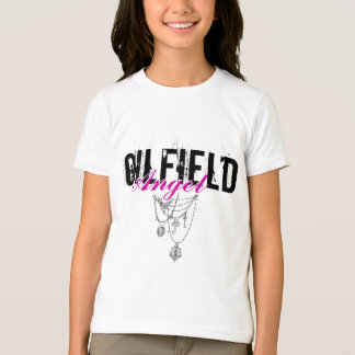 Oilfield Angel with necklace graphic Tee Shirt