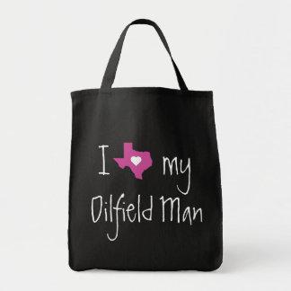 Oilfield Girlfriend or Wife Tote Bag