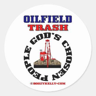 Oilfield Trash God's Chosen People,Sticker,Oil