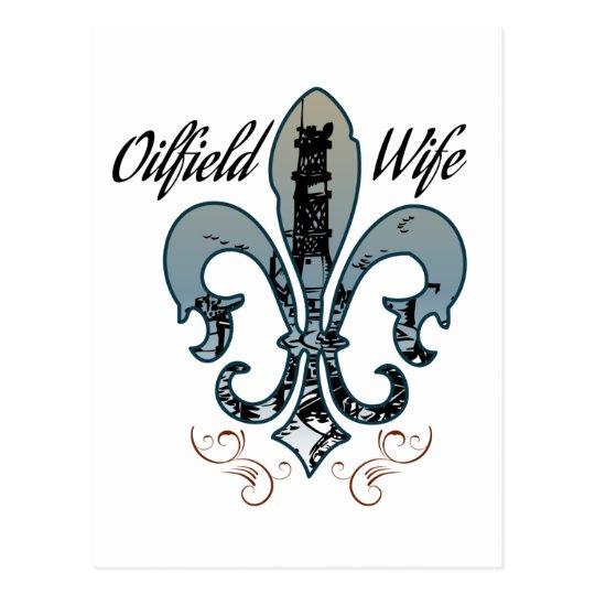 oilfield wife postcard