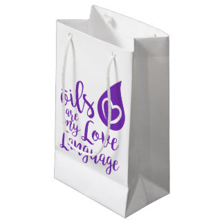 Oils are my Love Language Gift Bag - small