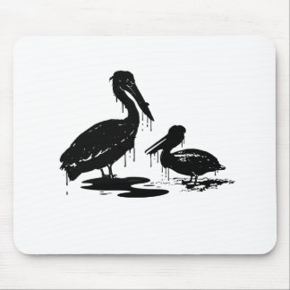 Oily Birds 2 Mouse Pad