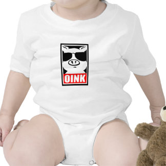 Oink - Pig from Punk Farm Tshirts