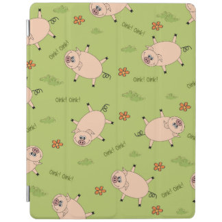 Oink Pig Pattern iPad Cover