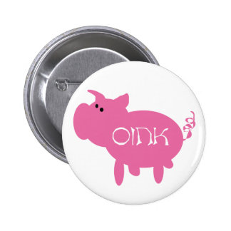 Oink Pink Pig Pin