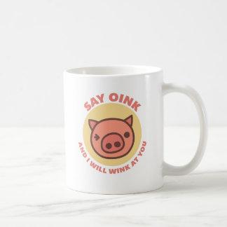 Oink the Piggy Coffee Mug