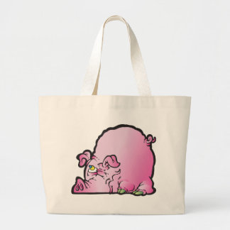 Oinky the pig canvas bag