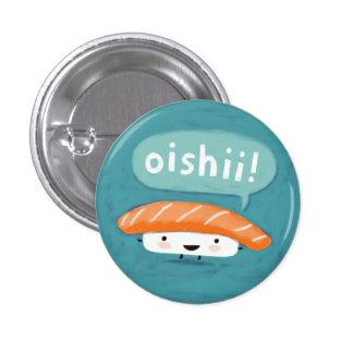 Oishii Sushi 3 Cm Round Badge