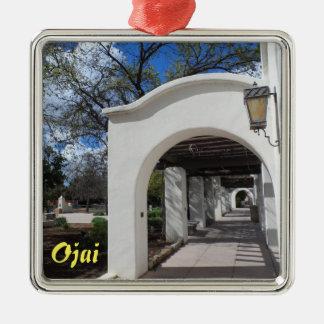 Ojai, California Christmas Ornament