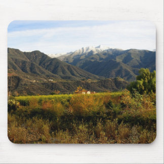 Ojai Valley With Snow 1 Mouse Pad