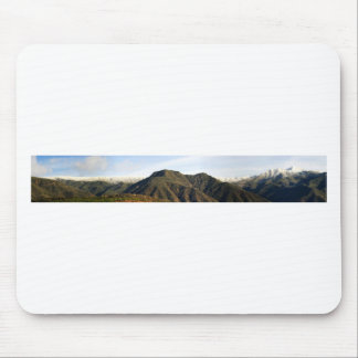 Ojai Valley With Snow Mouse Pad