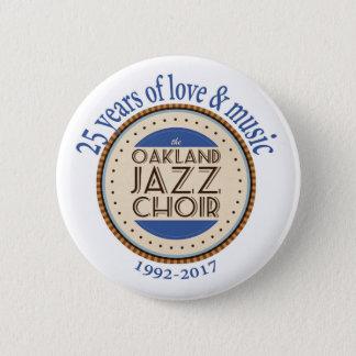 OJC 25th Anniversary Round Button