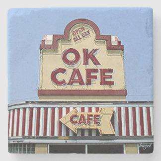 OK Cafe, Buckhead, Atlanta Marble Coasters Stone Coaster