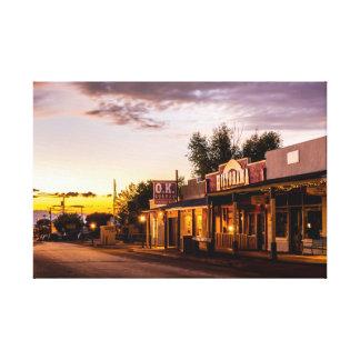 OK Corral, Tombstone, Arizona Canvas Print