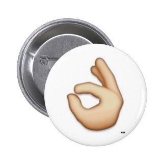 OK emoji pin