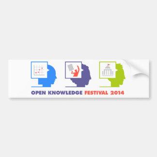 OK Festival 2014 Bumper Sticker