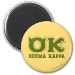 OK - OOZMA KAPPA Logo Refrigerator Magnet