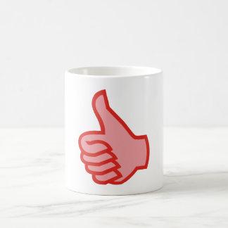 OK thumbs highly thumbs UP Mug