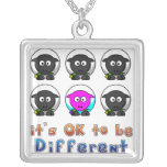 Ok to Be Different Online Farming  Necklace