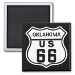 OK US ROUTE 66 MAGNET