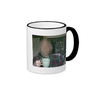 OK..., WAY TO MUCH COFFEE ! RINGER MUG