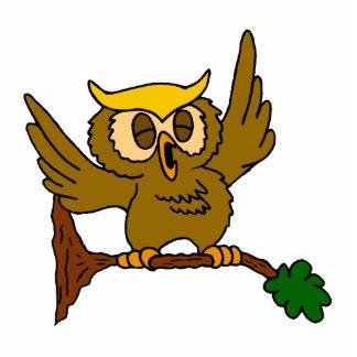 Okala Owl Standing Photo Sculpture