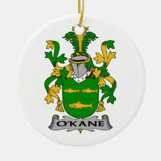 O'Kane Family Crest Christmas Ornament
