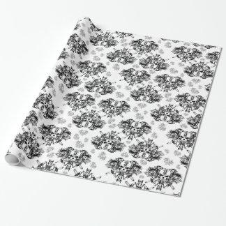 O'Kane Logo Wrapping Paper (Black & Grey)