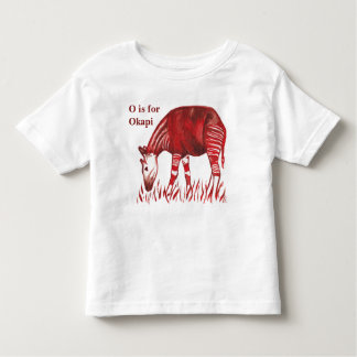Okapi Artwork Baby and Kids' Clothing Toddler T-Shirt