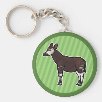 Okapi Key Ring