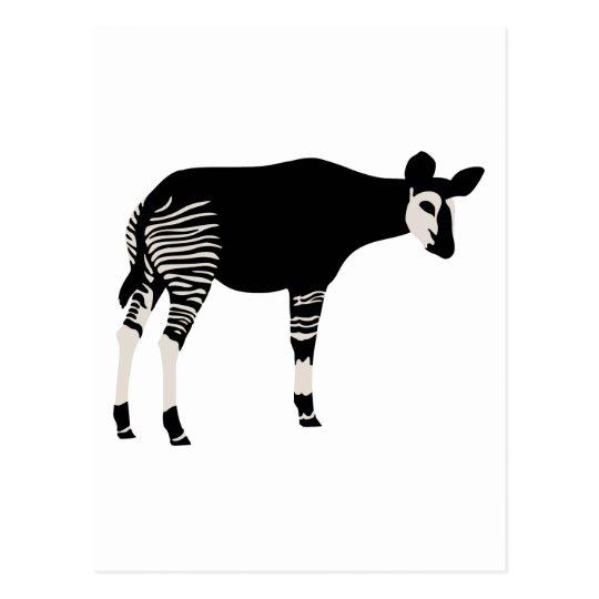Okapi Postcard